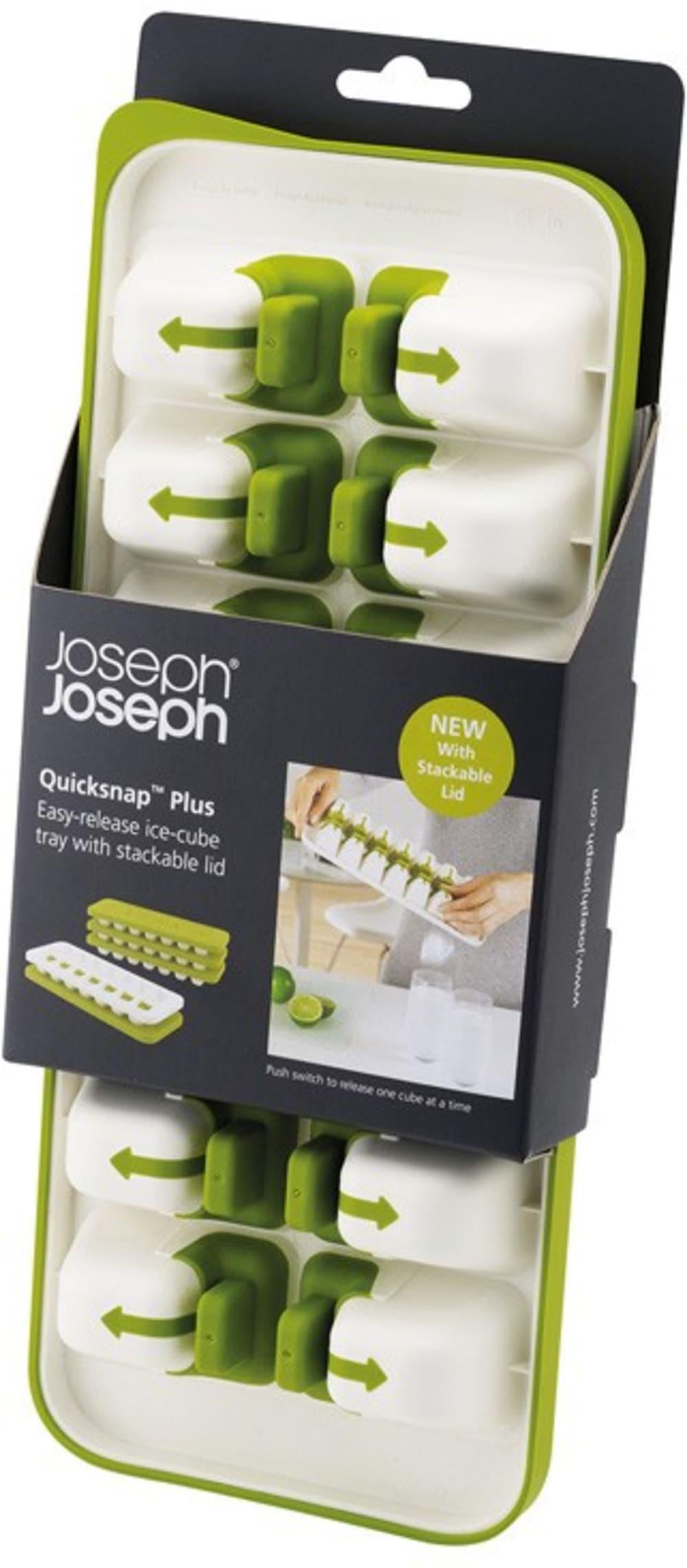 Foremka do lodu z pokrywką zielona Joseph Joseph