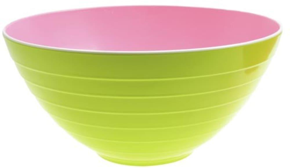 Zak! - Miseczka dwukolorowa, różowo - zielona,mała