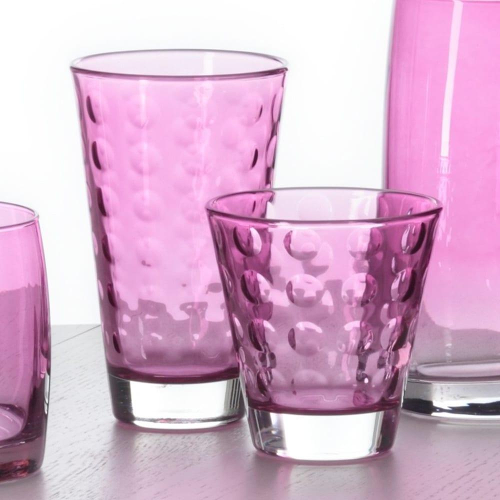 LO - Szklaneczka 220 ml, fioletowa, OPTIC