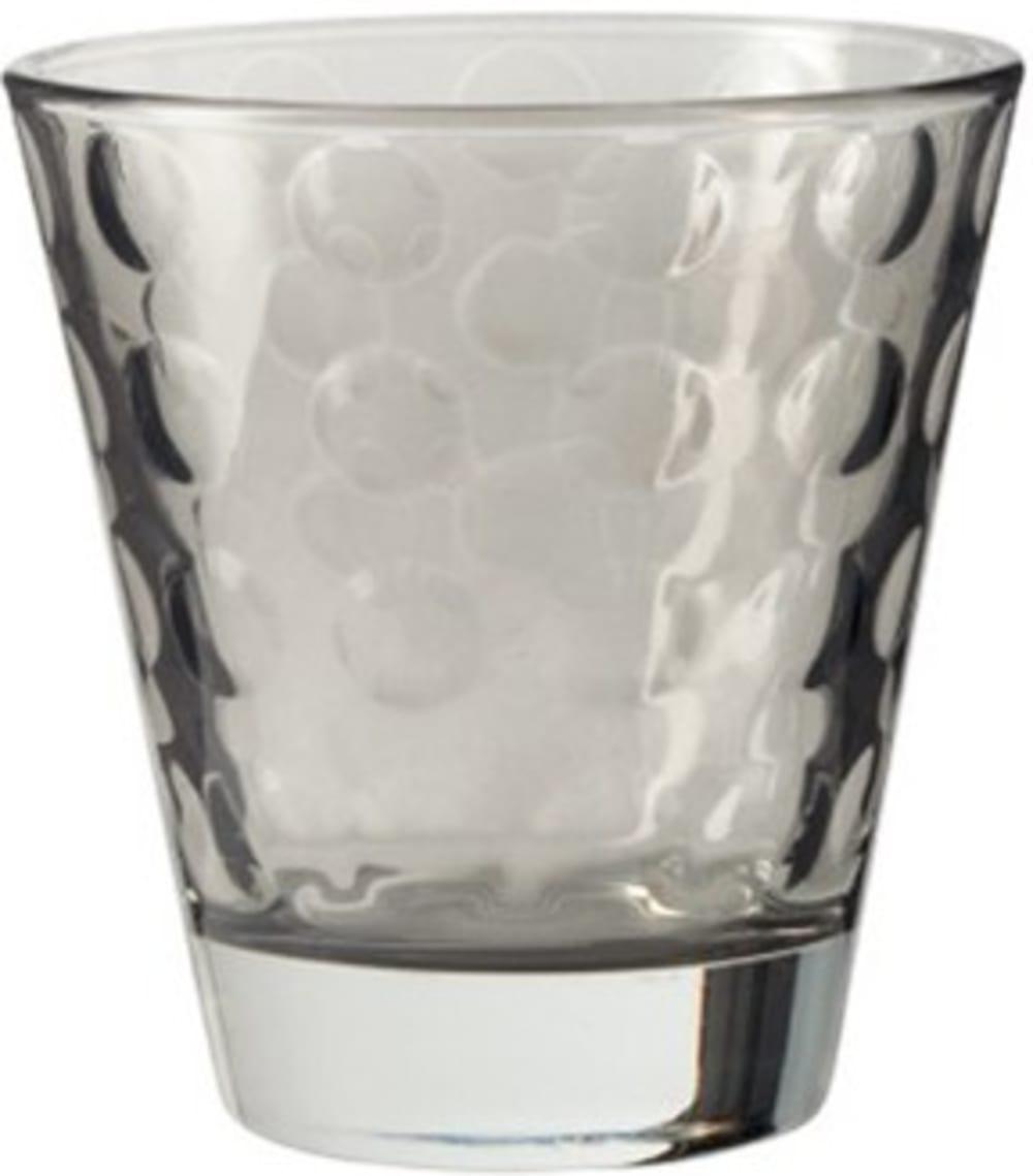 LO - Szklaneczka 220 ml, szara, OPTIC