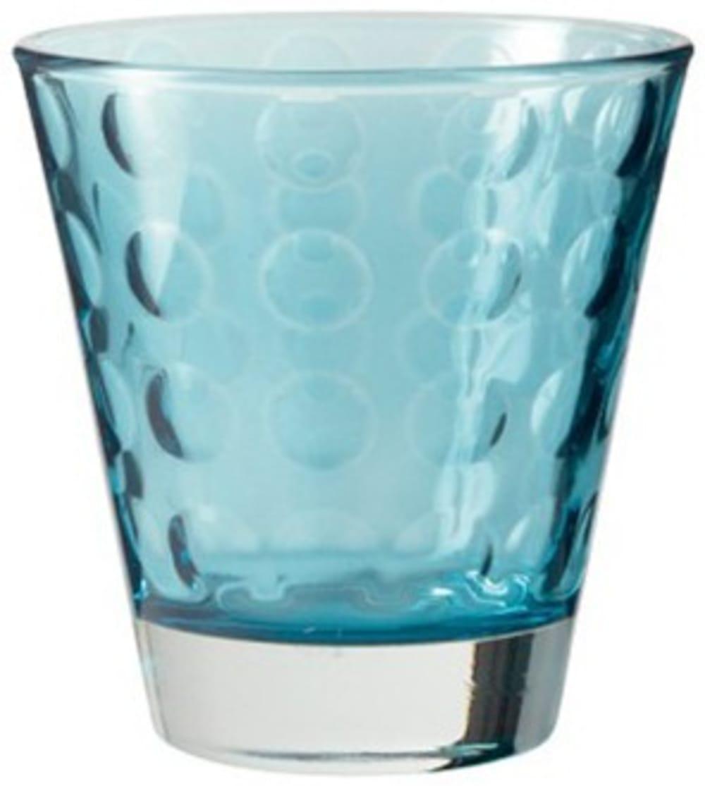 LO - Szklaneczka 220 ml, niebieska, OPTIC