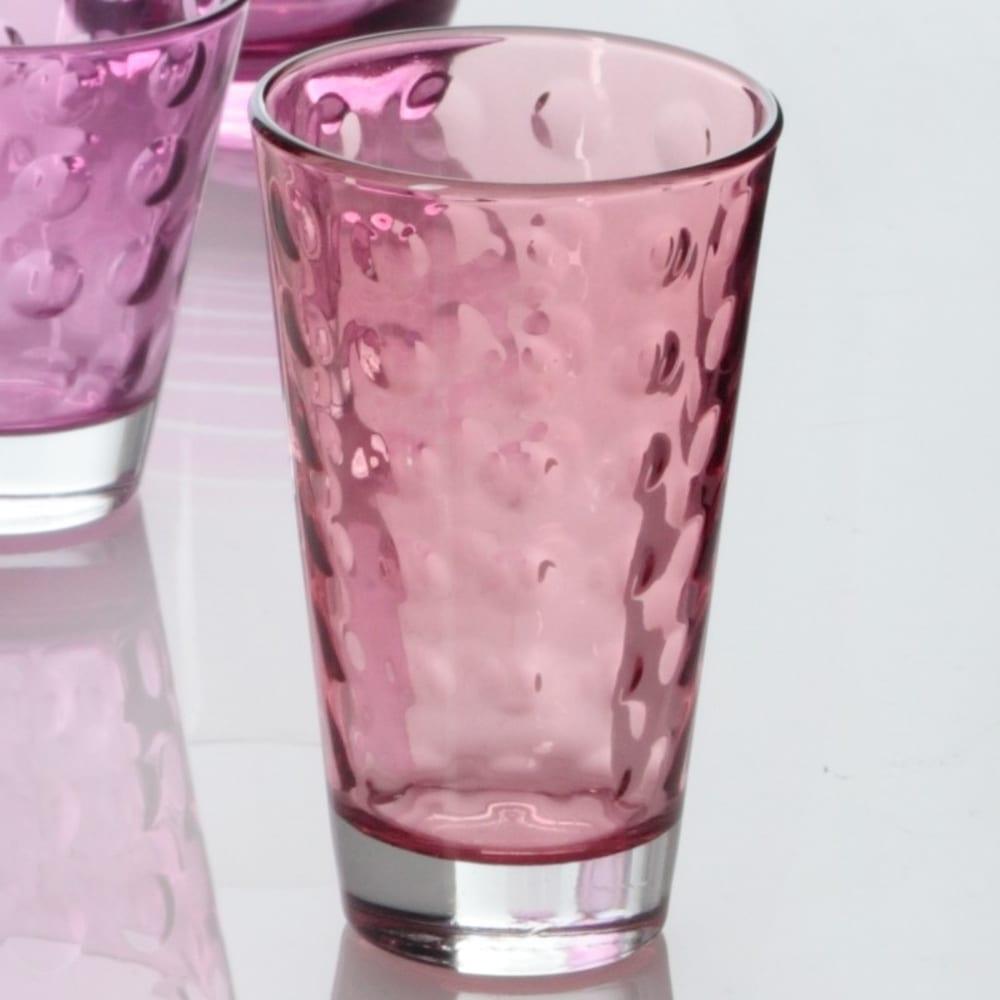 LO - Szklaneczka 300 ml, rubinowa, OPTIC