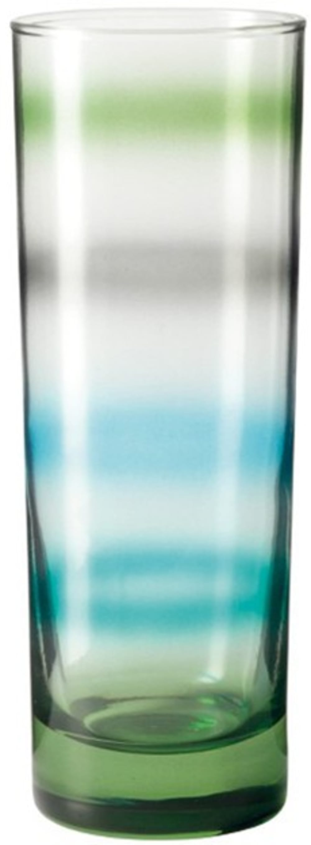 LO - Szklanka 305 ml, zielona, RAINBOW