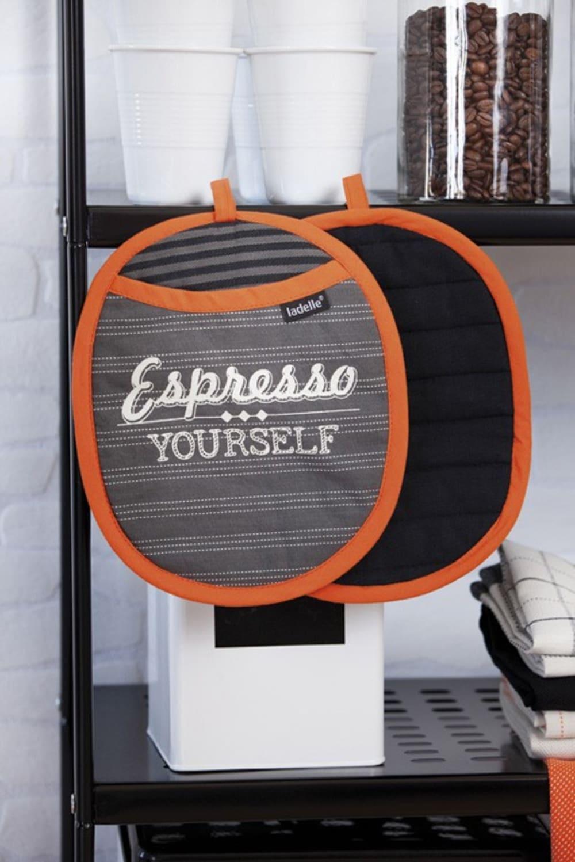 LAD - Uchwyt do gorących naczyń 2szt Cafe Latte