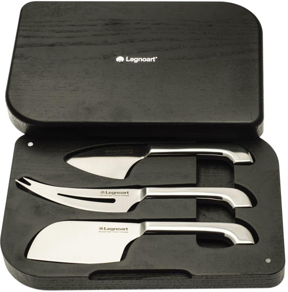 LEGNO - Zestaw 3-ech noży do serów, stalowe