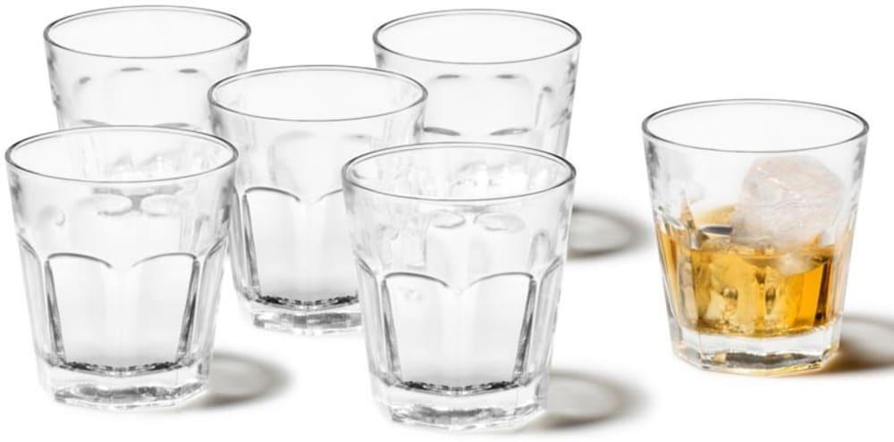 LO - Zestaw sześciu szklanek ROCK, 9 cm