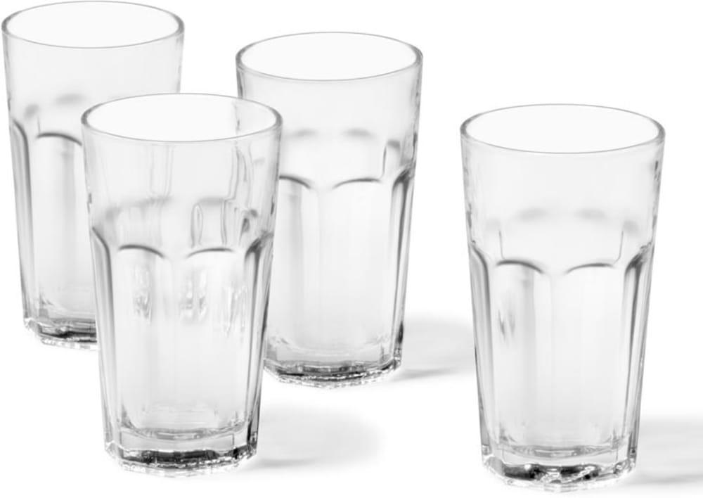 LO - Zestaw czterech szklanek ROCK, 17 cm