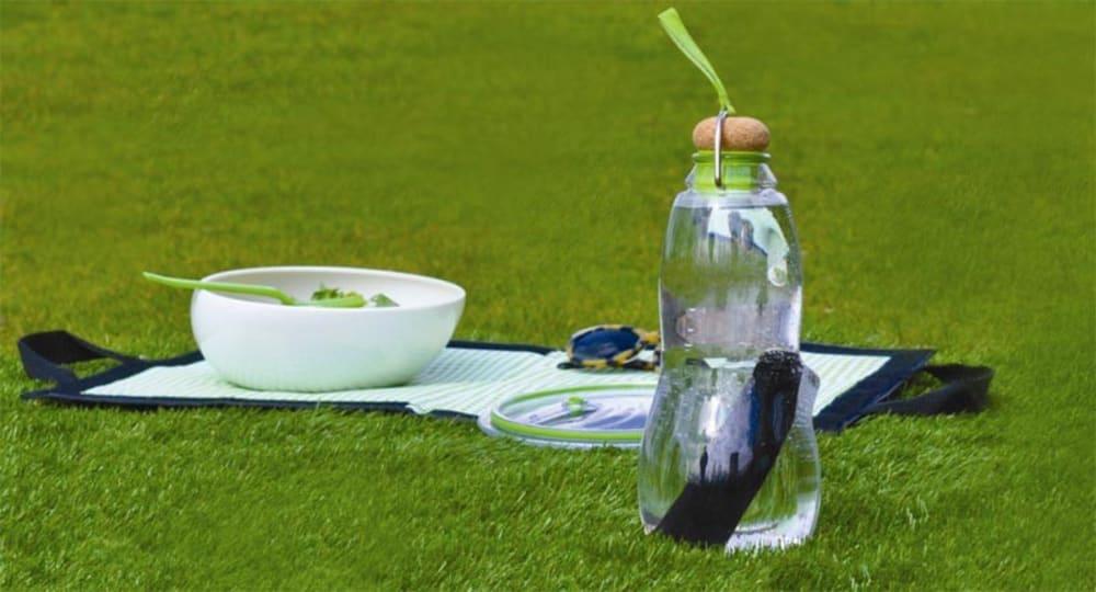 Butelka na wodę z aktywnym węglem filtrujacym EAU GOOD