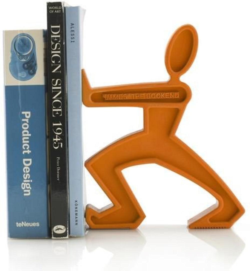 Podpórka do książek JAMES, pomarańczowa Black+Blum