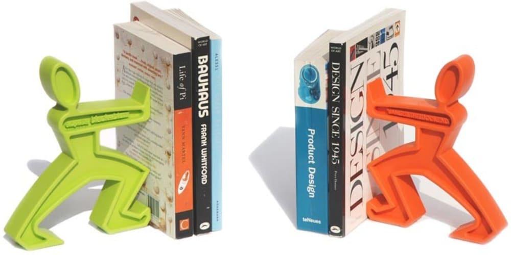 Podpórka do książek JAMES, zielona Black+Blum
