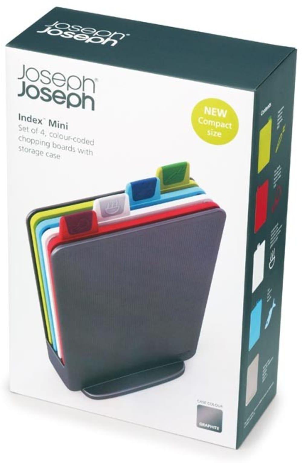 Zestaw 4 mini desek do krojenia JOSEPH JOSEPH Index