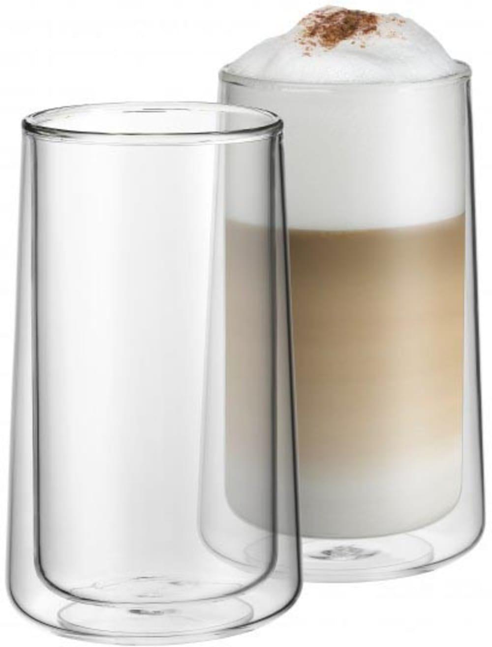WMF - Zestaw 2 szklanek termicznych do latte z podwójnymi ściankami