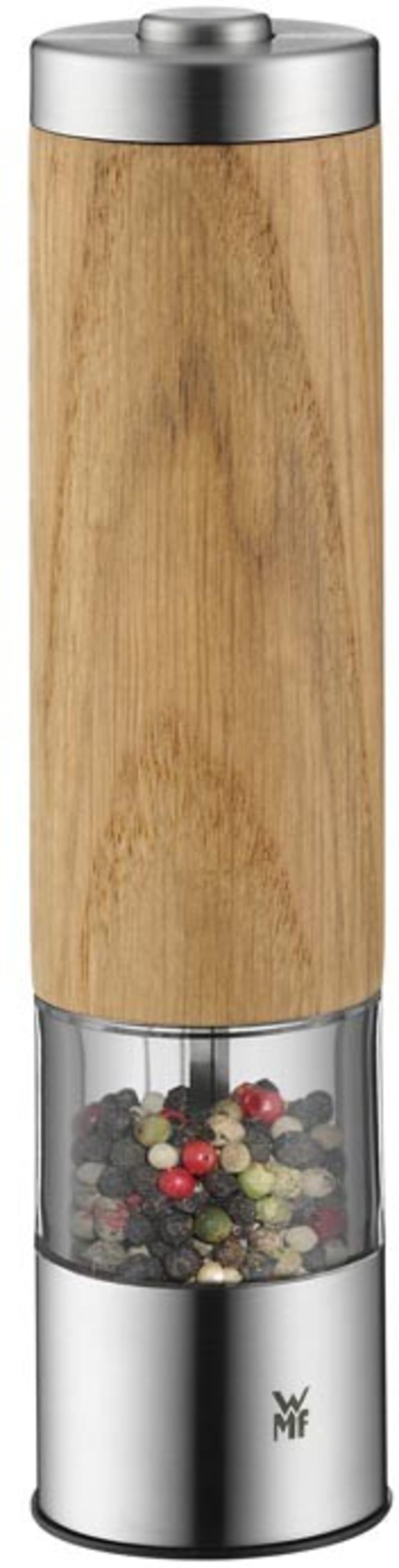 WMF - Drewniany elektryczny młynek