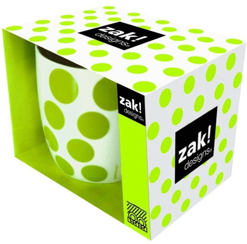 Zak! - Porcelanowy kubek, zielony, Dot