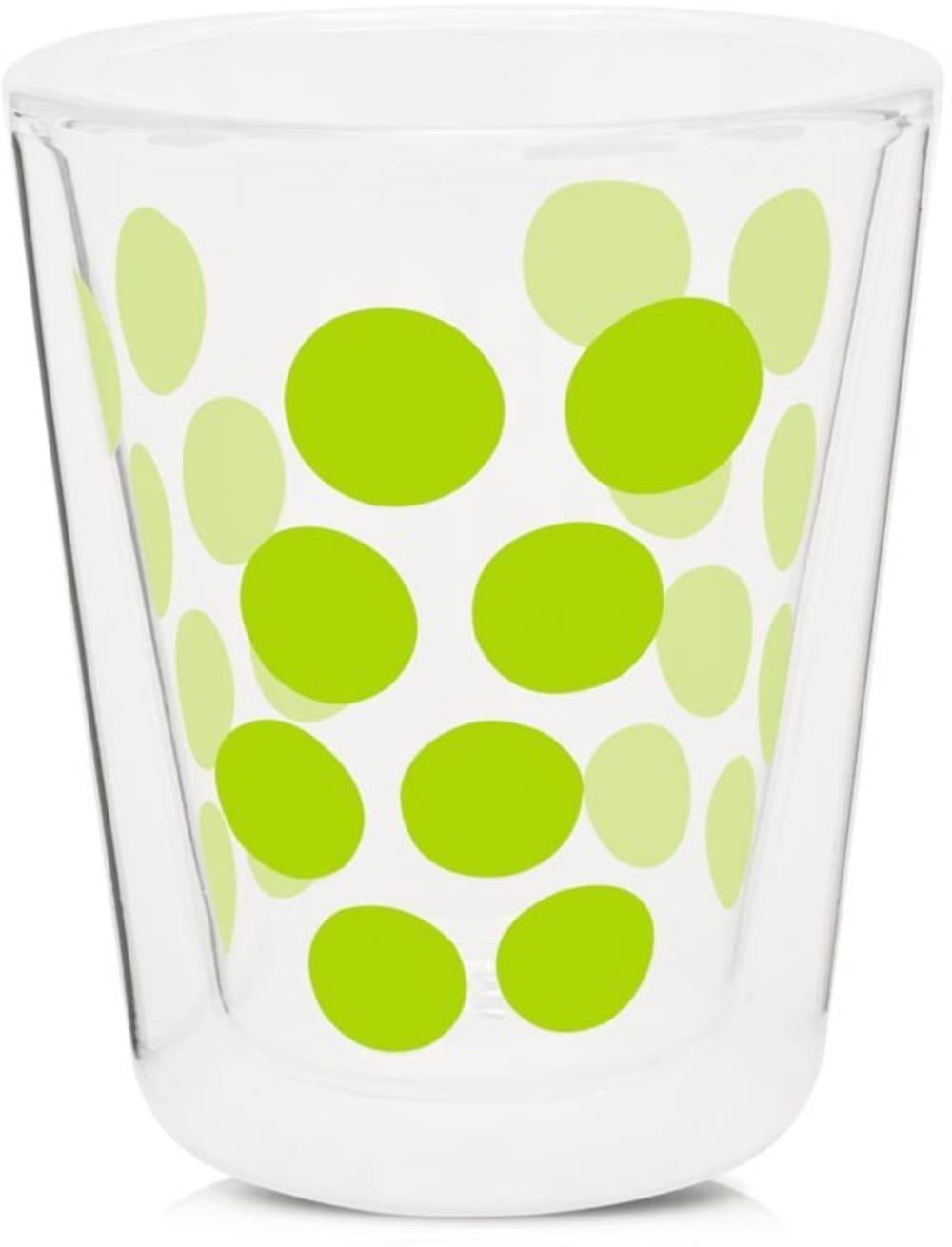 Zak! - Szklanka 200 ml z podw. ściankami, zielona
