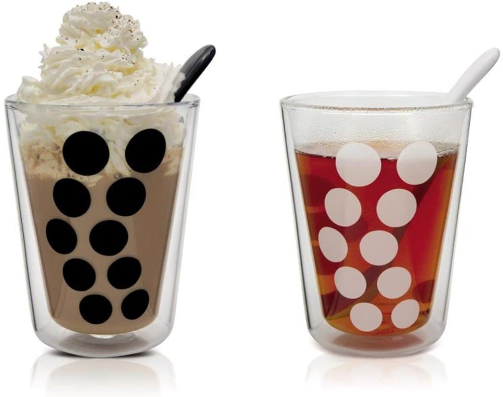 Zak! - Zestaw 2 szklanek 200 ml z łyżeczkami