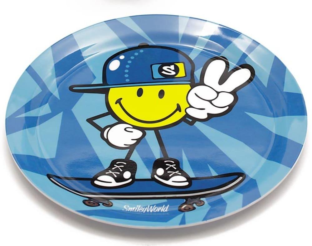 Zak! - Talerzyk dla chłopczyka Smiley Kid