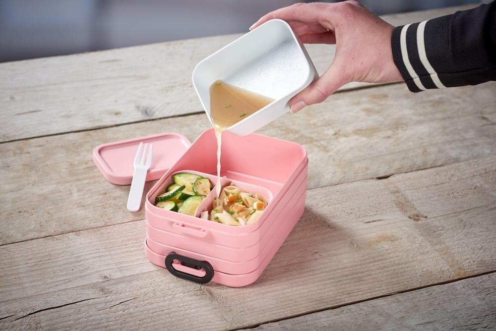 Mepal Lunchbox z widelczykiem Take a Break - Biały