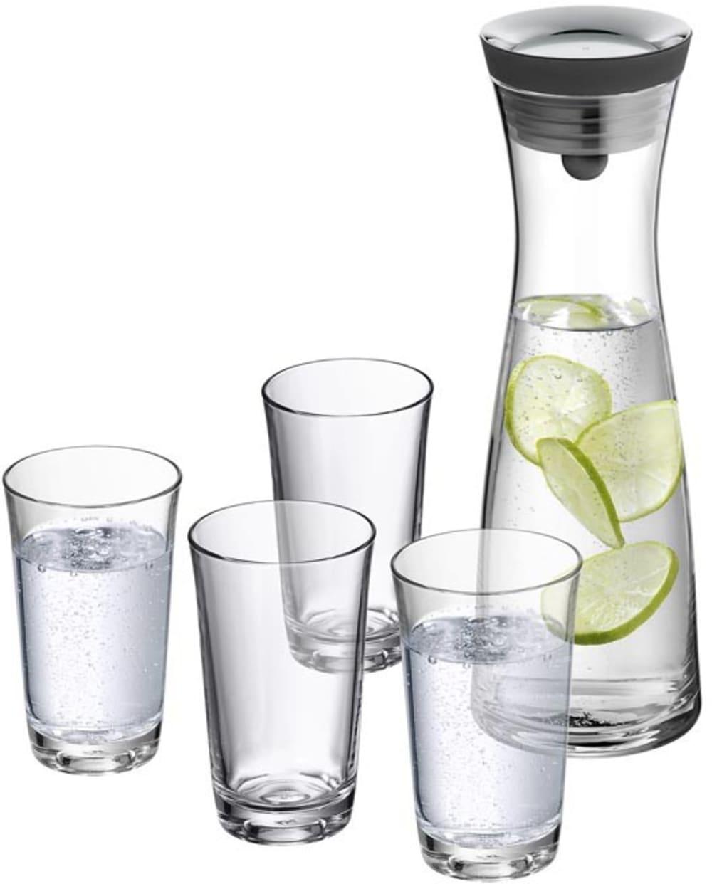 WMF - Karafka na wodę 1l ze szklankami, Basic