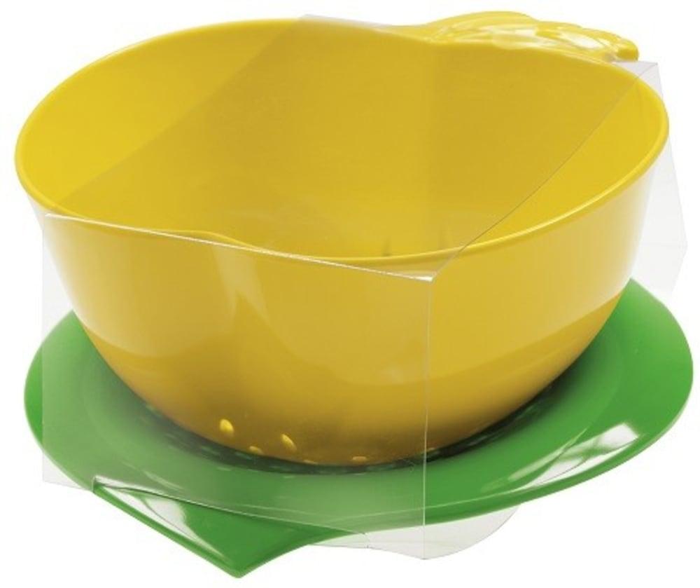 Zak! - Durszlak z podstawką, żółty