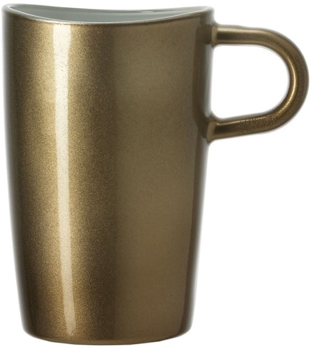 LO - Kubek do latte macchiato, brązowy, Loop