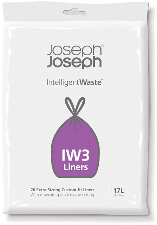 Worki na śmieci 20 sztuk, Intelligent Waste 17l JOSEPH JOSEPH