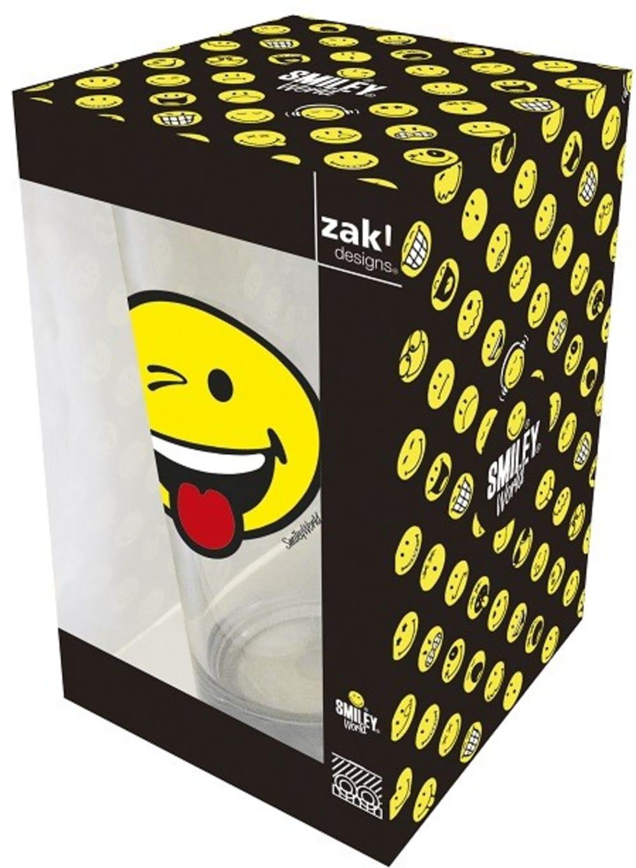 Zak! - Szklanka 300 ml, Wink, Smiley