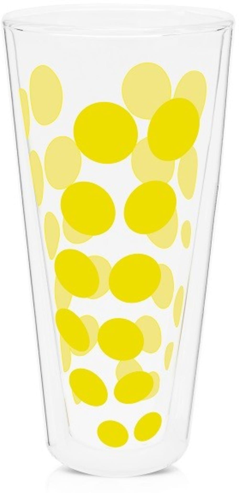 Zak! - Szklanka wysoka 350 ml, żółta