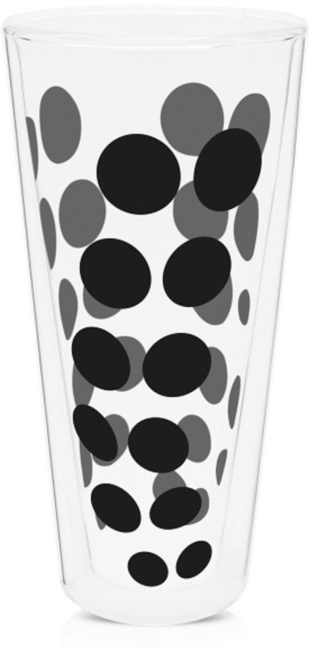 Zak! - Szklanka wysoka 350 ml, czarna