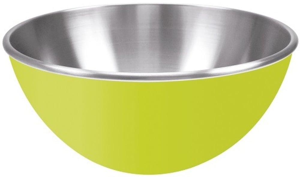 Zak! - Stalowa miska 25 cm, zielona