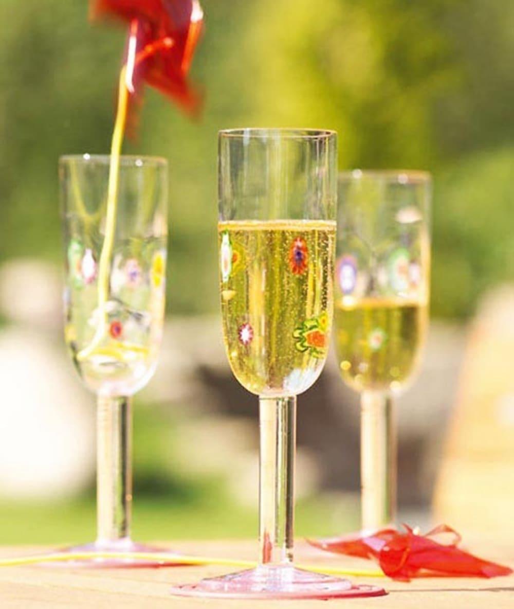 Kieliszek do szampana 180ml Millefiori LEONARDO