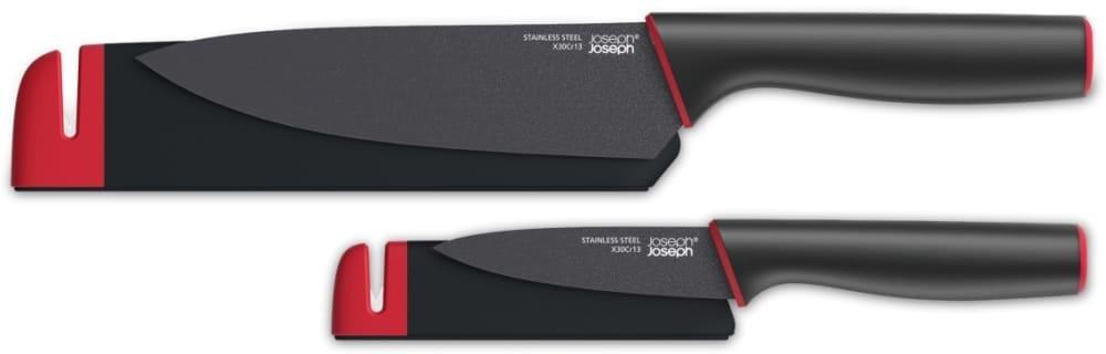 JOSEPH - Zestaw dwóch noży z ostrzałką Slice&Sharpen