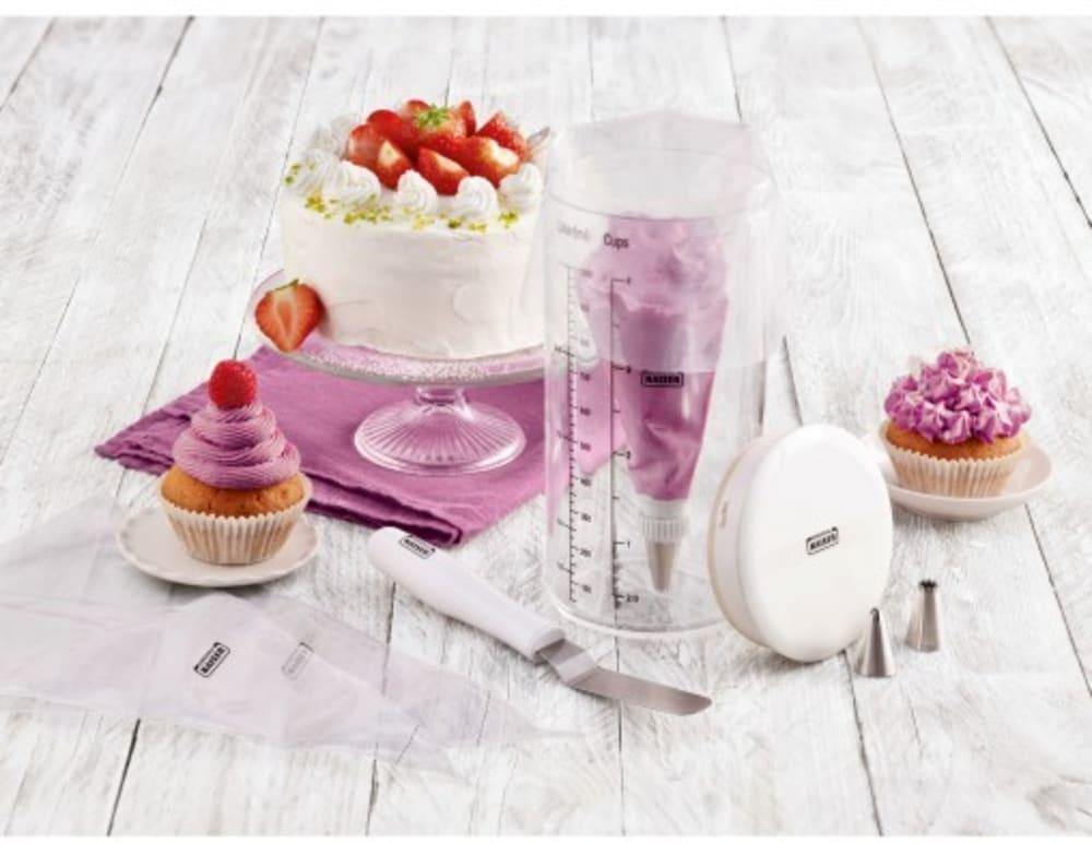 KAISER Zestaw do dekoracji ciast i tortów CREATIV