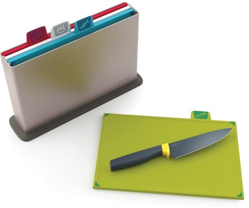 Zestaw desek index + nóż szefa GRATIS Joseph Joseph