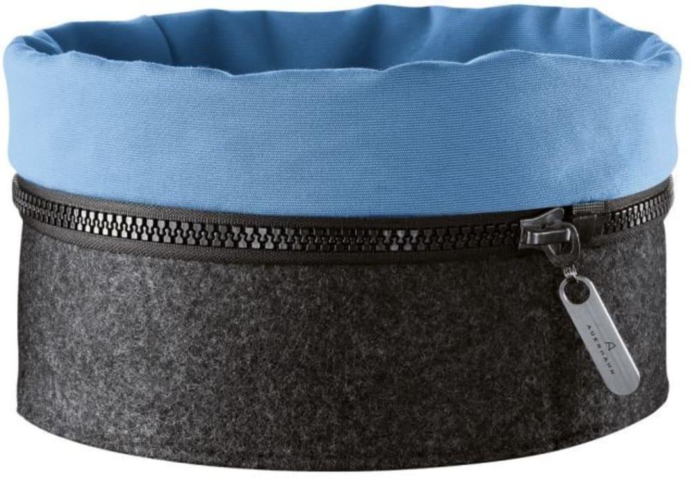 Auerhahn - Filcowy koszyk ZIPP,niebieski,bez opak.
