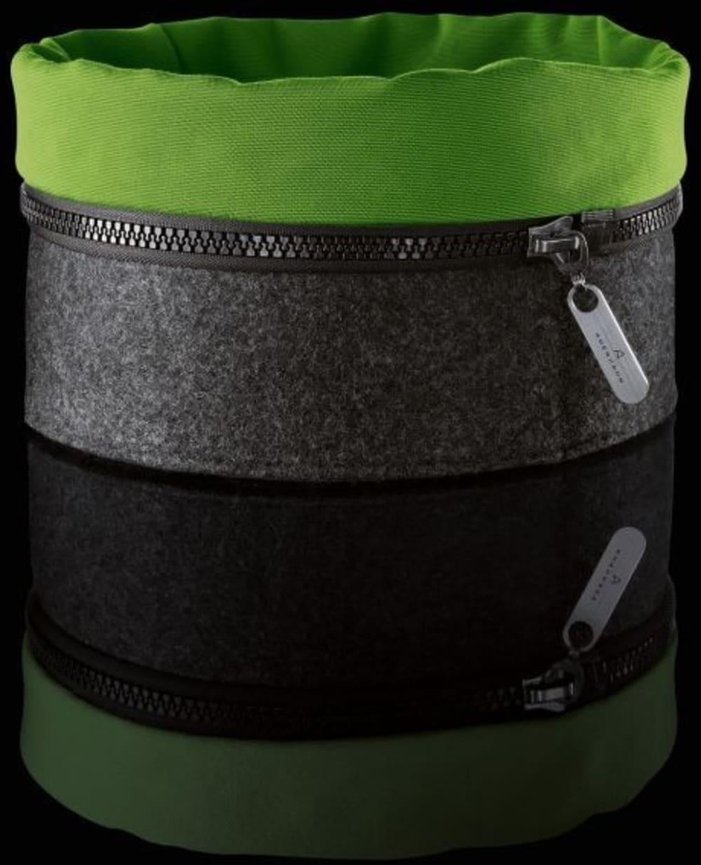 Auerhahn - Filcowy koszyk ZIPP, zielony, bez opak.