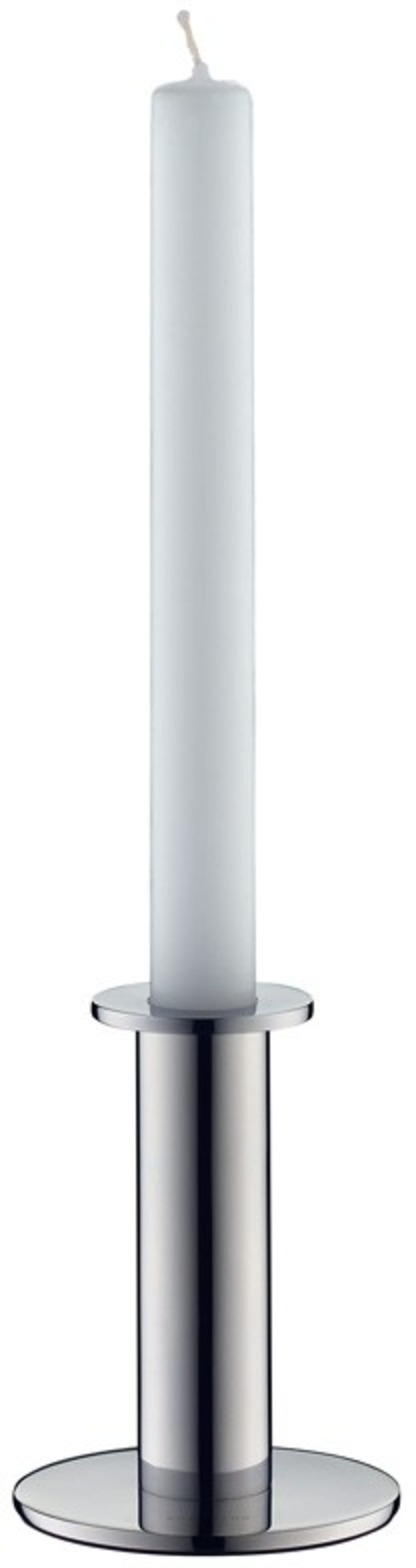 Auerhahn-TUBE świecznik+świeca,mat H10cm, bez opak
