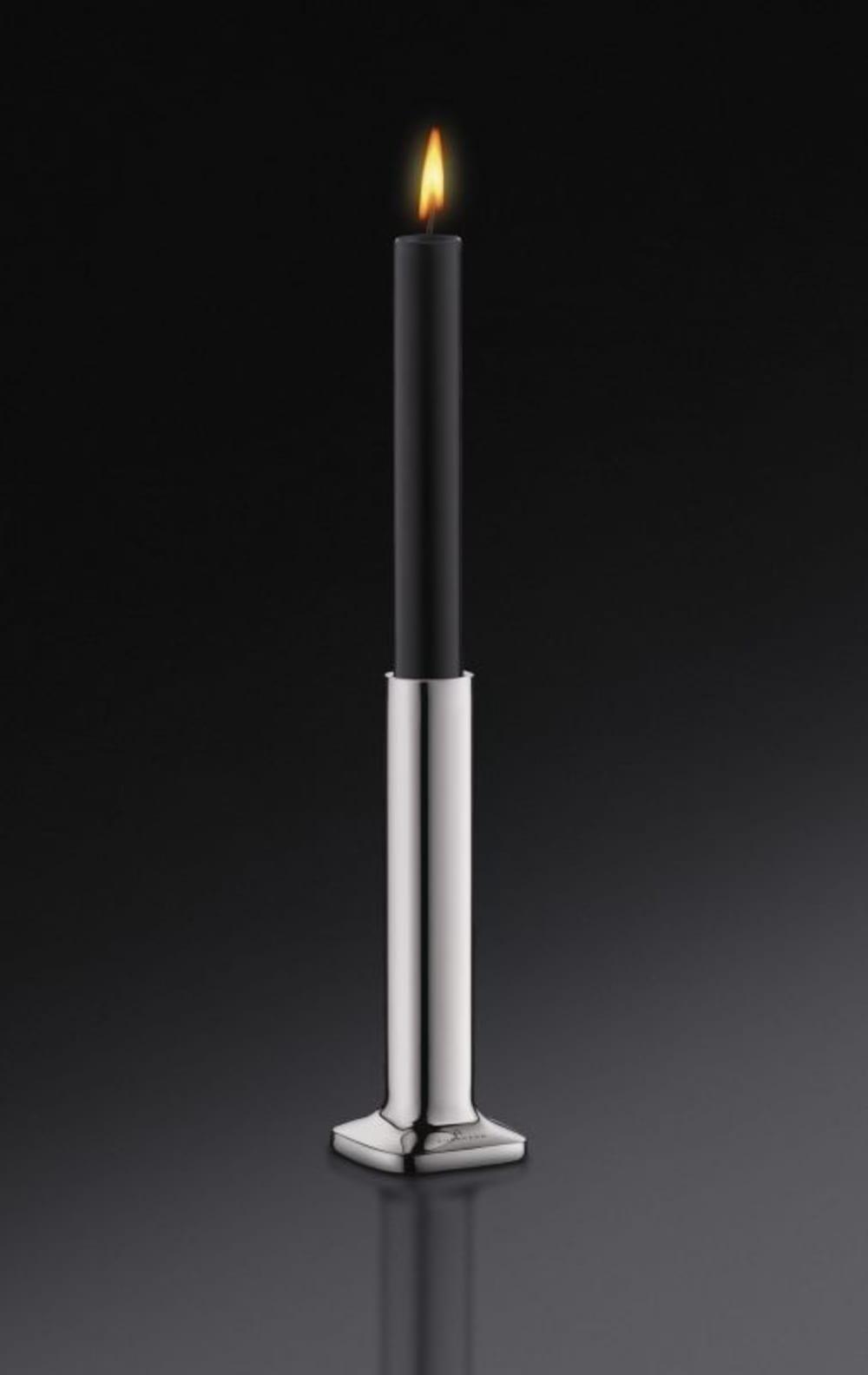 Auerhahn-Świecznik+świeca czarna poł. H15,bez opak