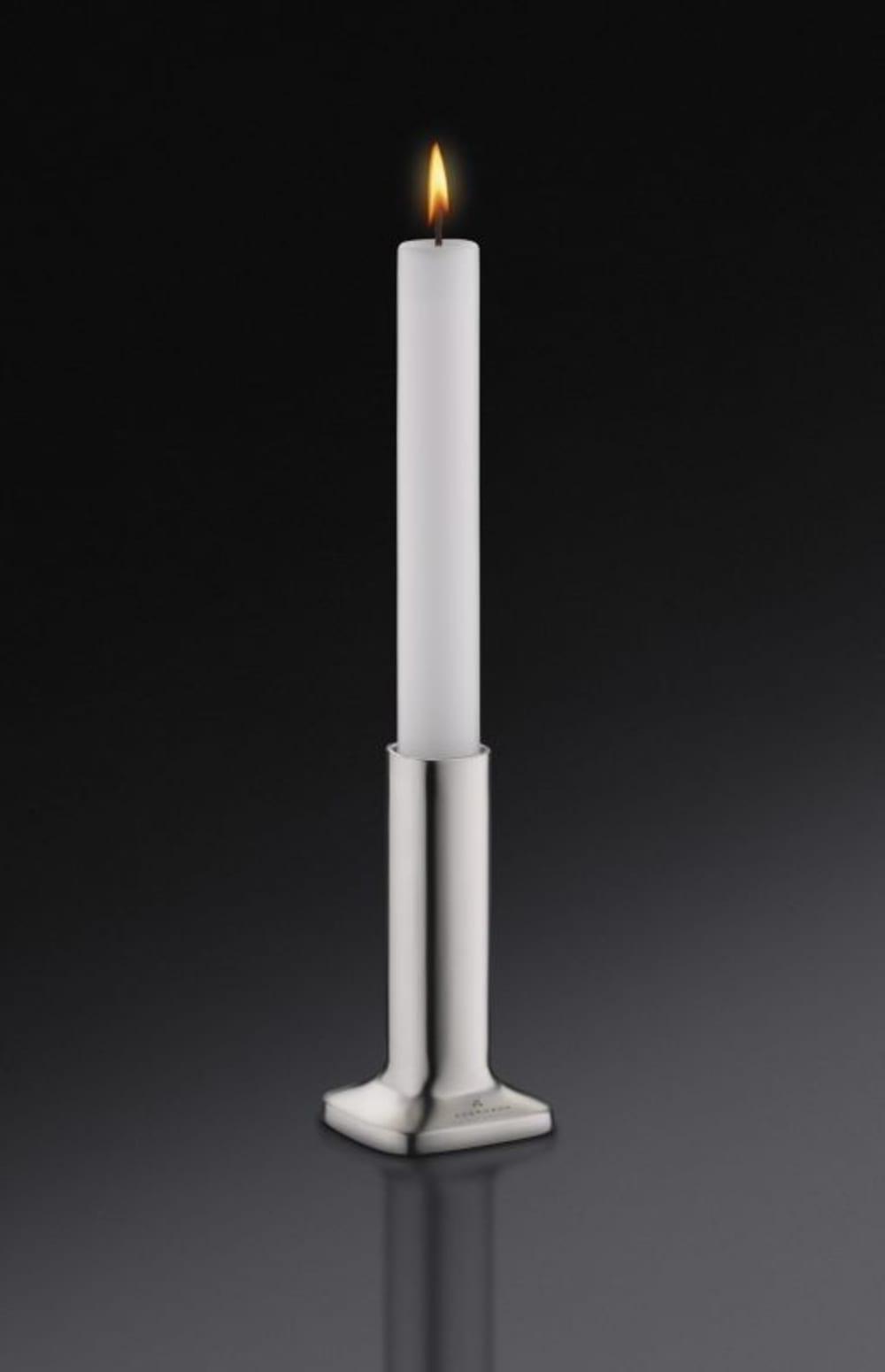 Auerhahn-Świecznik+świeca biała mat H10, bez opak