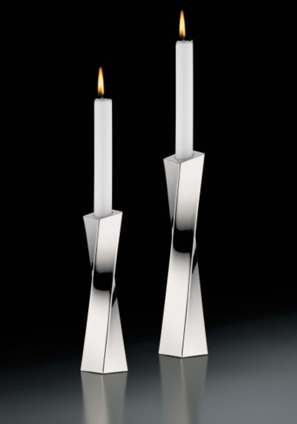Auerhahn - Świecznik + świeca Scala H19,5,bez opak