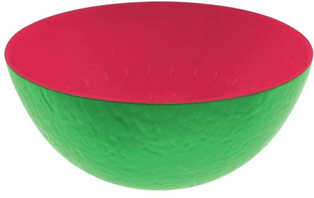 Zak! - Miska 24 cm, zielono-malinowa