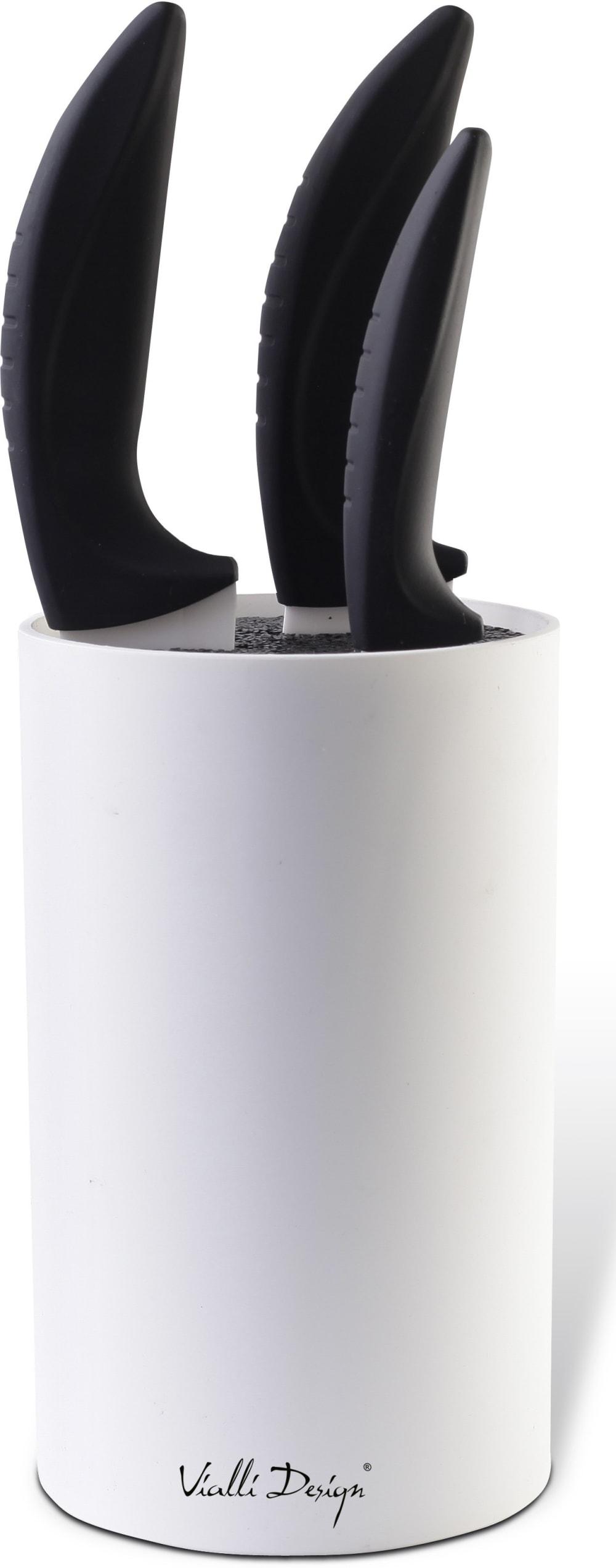 Blok do noży Bianco biały Vialli Design