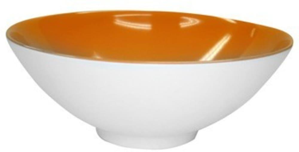 Miska  24cm Venezia pomarańczowo-biała  Vialli Design