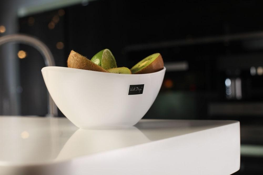 Miska Livio owalna biała 25 cm Vialli Design