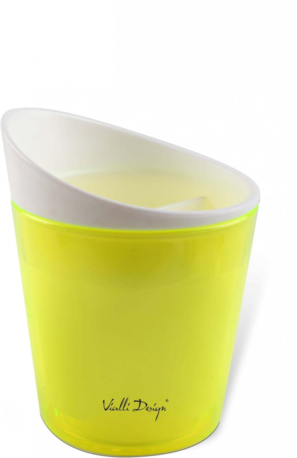 Ociekacz na sztućce Livio zielony Vialli Design