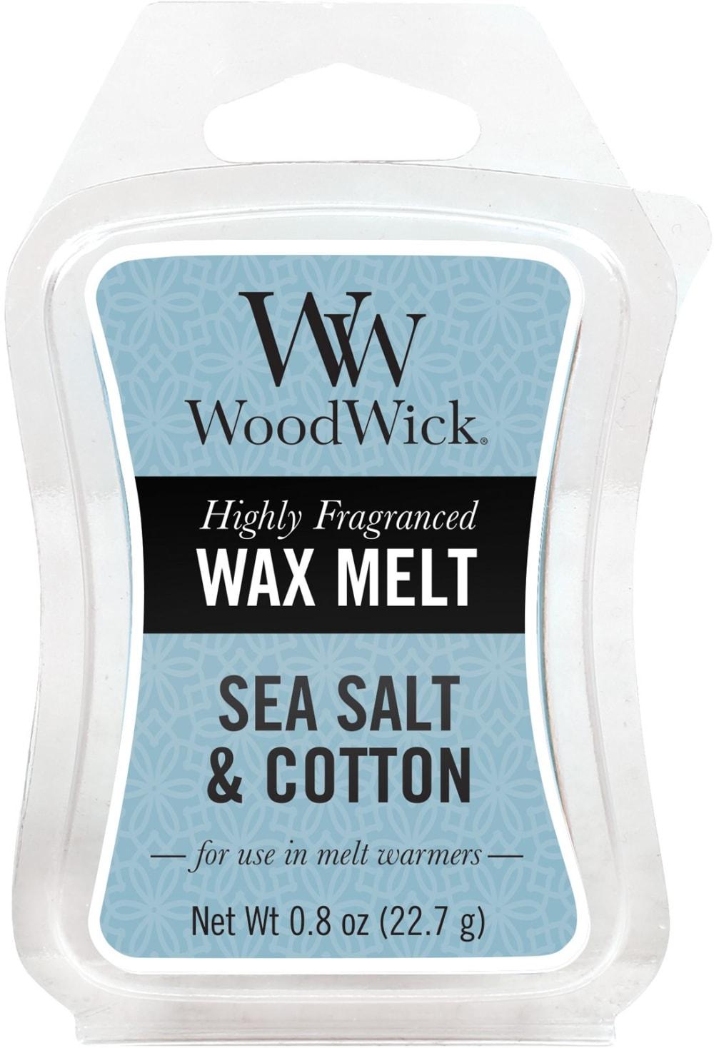Wosk Zapachowy WoodWick - Sea Salt & Cotton