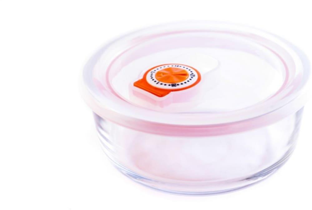 Pojemnik szklany żaroodporny okrągły  0,3 l