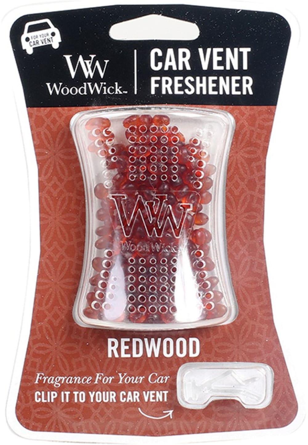 Woodwick Zapach do samochodu - Redwood