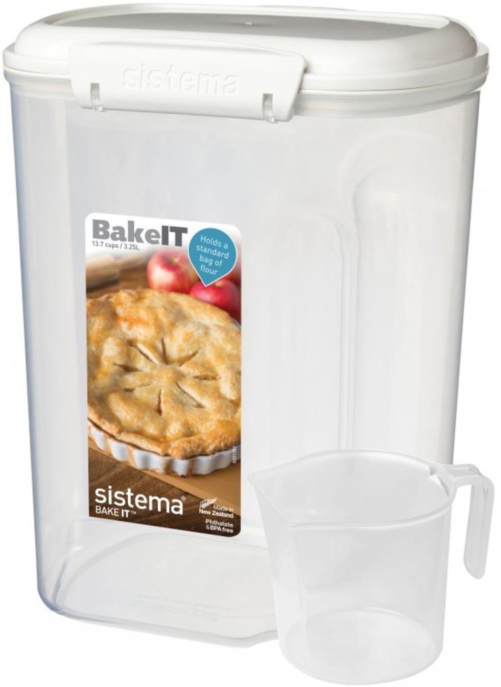 Pojemnik Bakery z miarką 3,25l Sistema