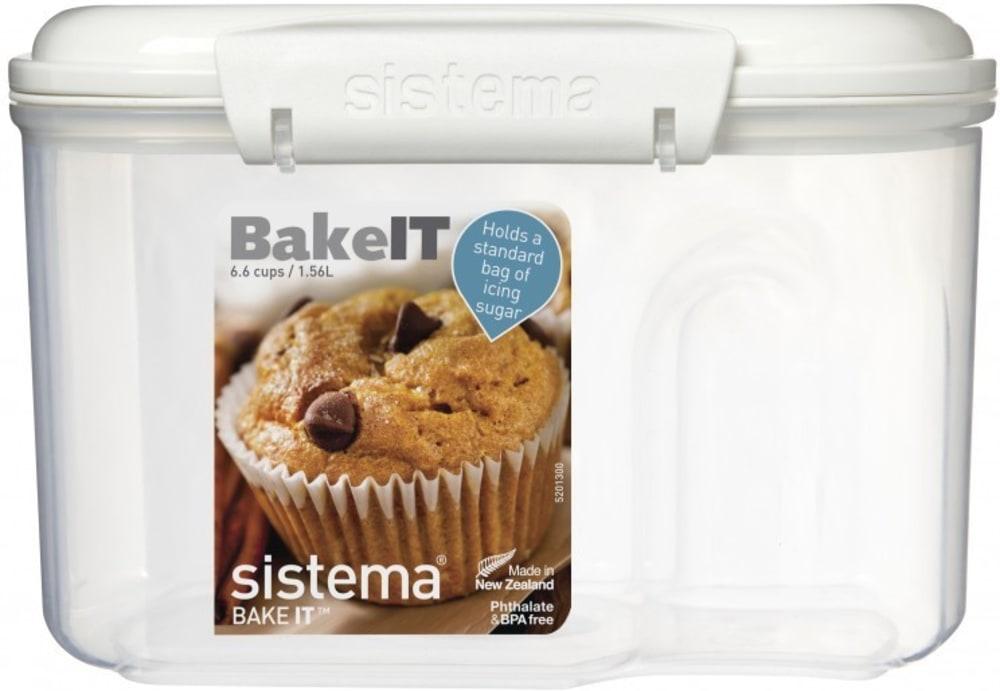 Pojemnik do wypieków Bakery 1,56l z miarką Sistema